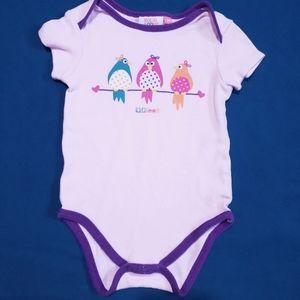18M Birdies Onesie Pink and Purple